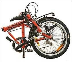 La Uri Bike plegada